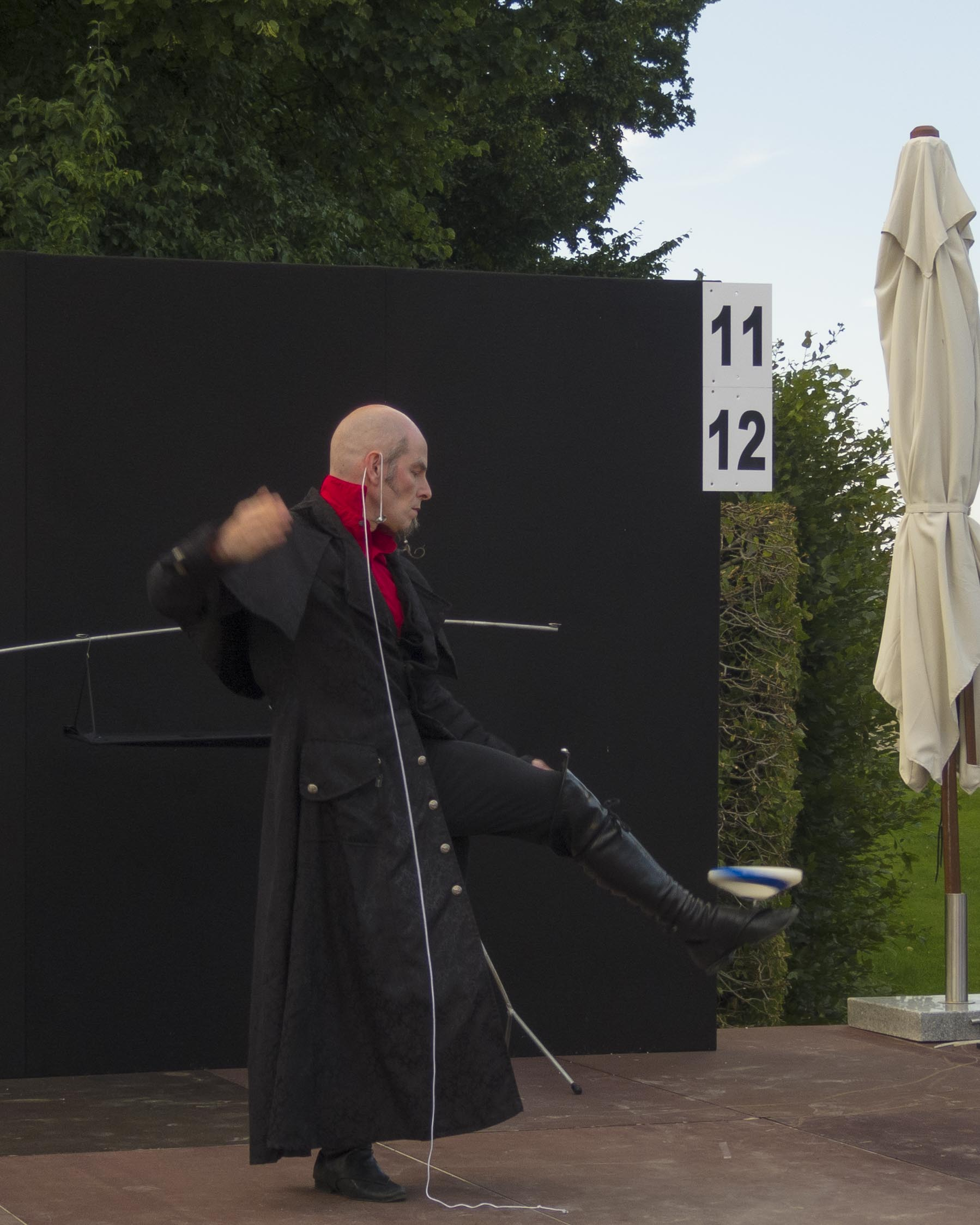 Jochen Schell: Kreiselshow