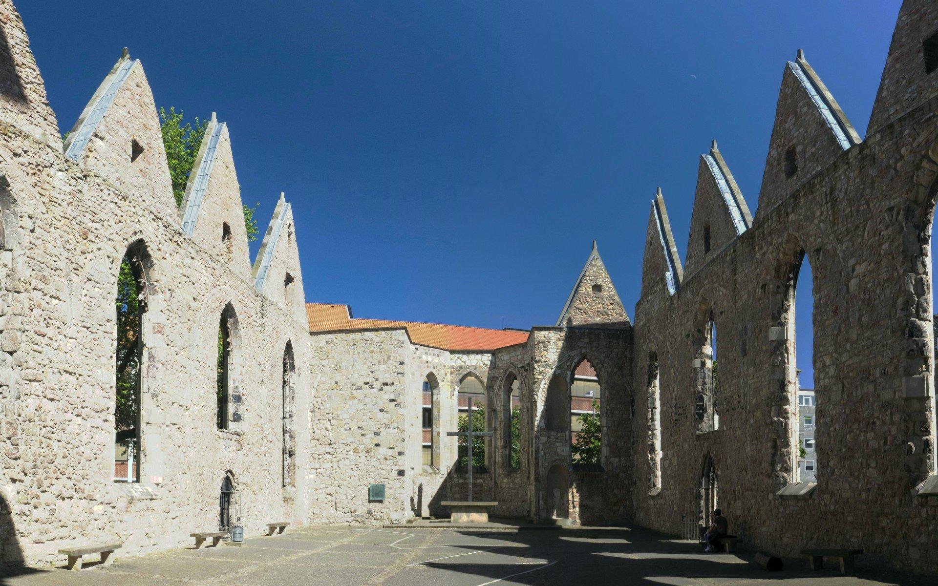 Aegidienkirche – Innenhof
