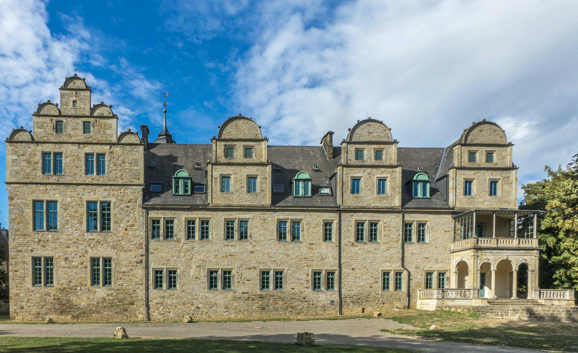 Südseite des Schlosses in Stadthagen