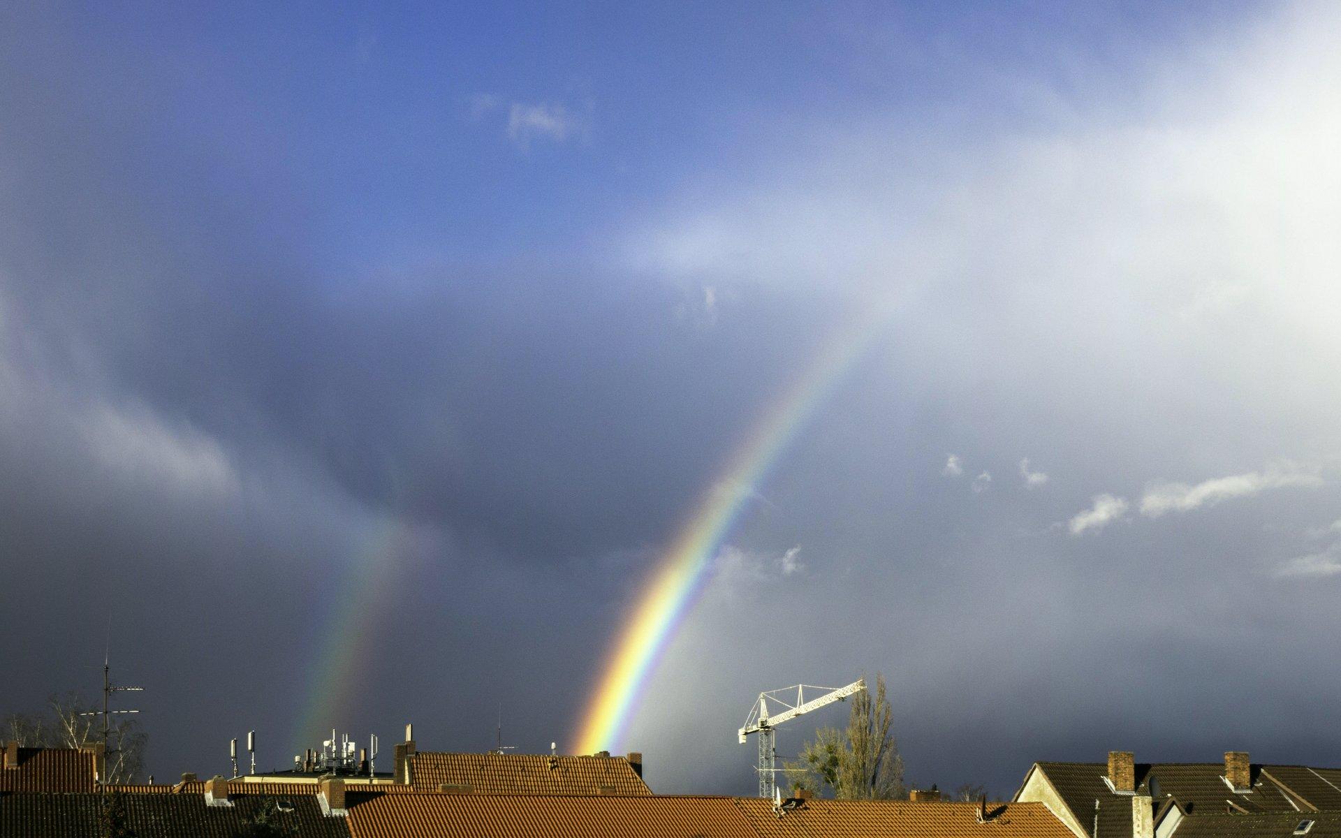 Regenbogen am Nachmittag