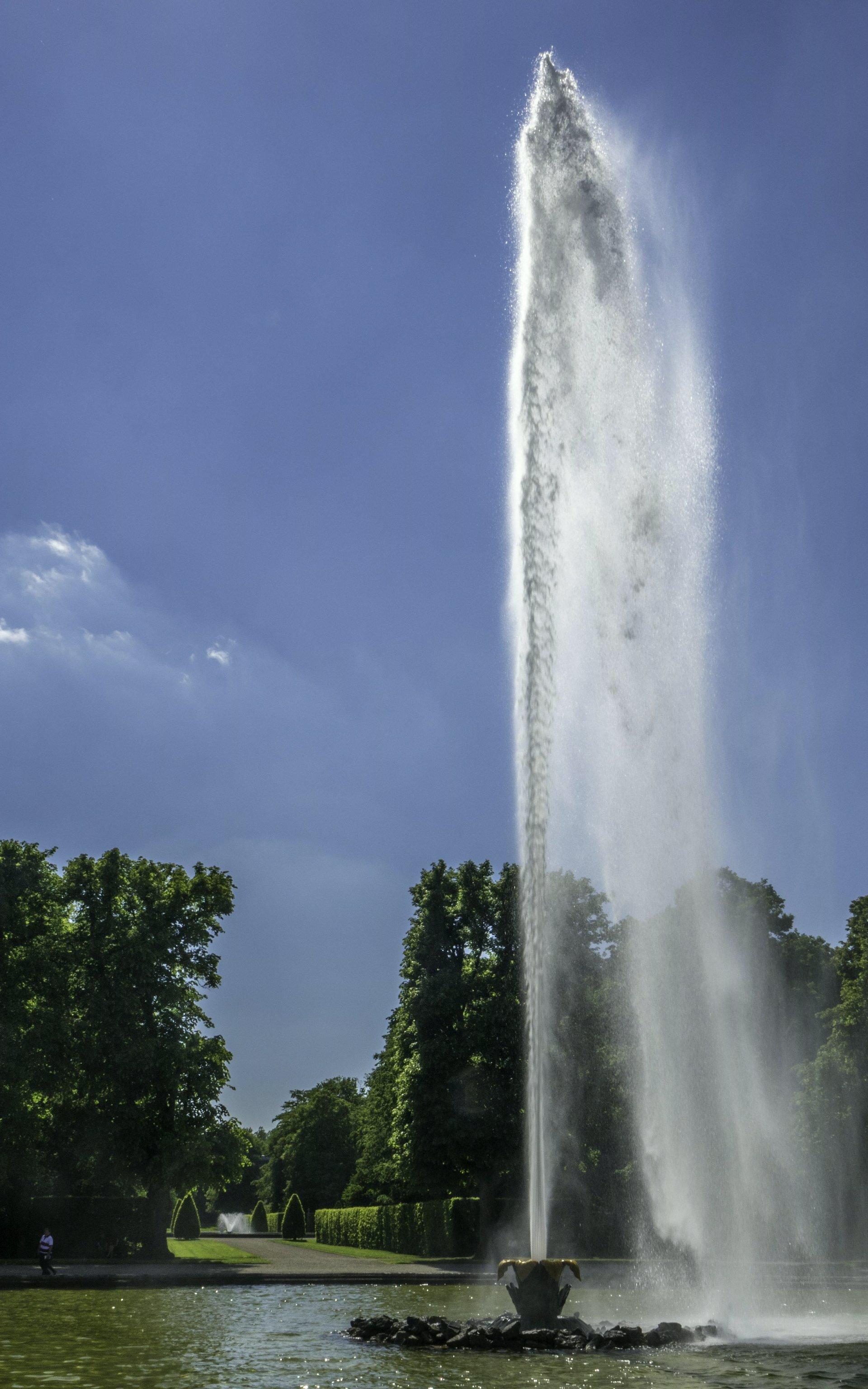 Große Fontaine im Großen Garten