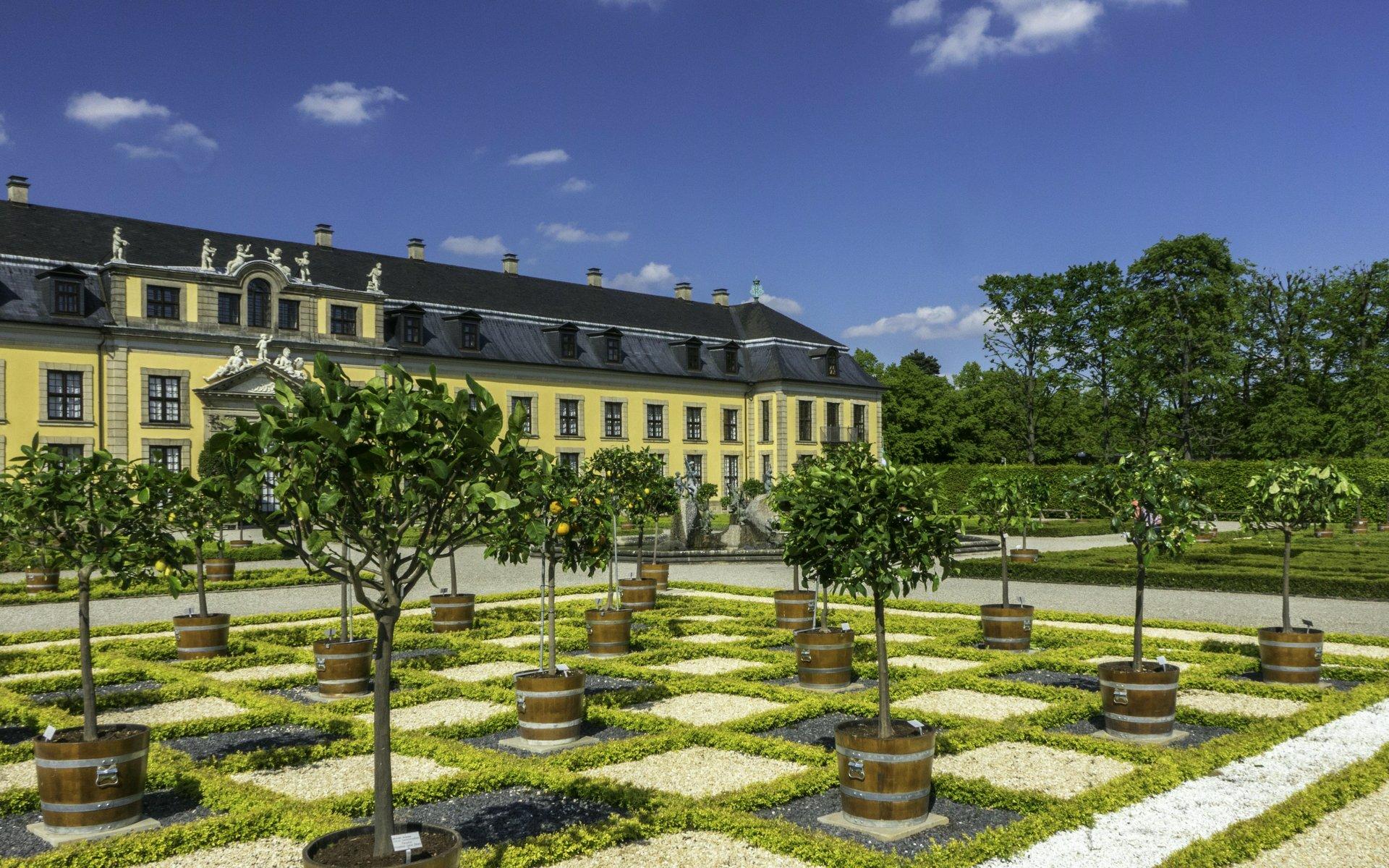 Orangeriegarten im Großen Garten