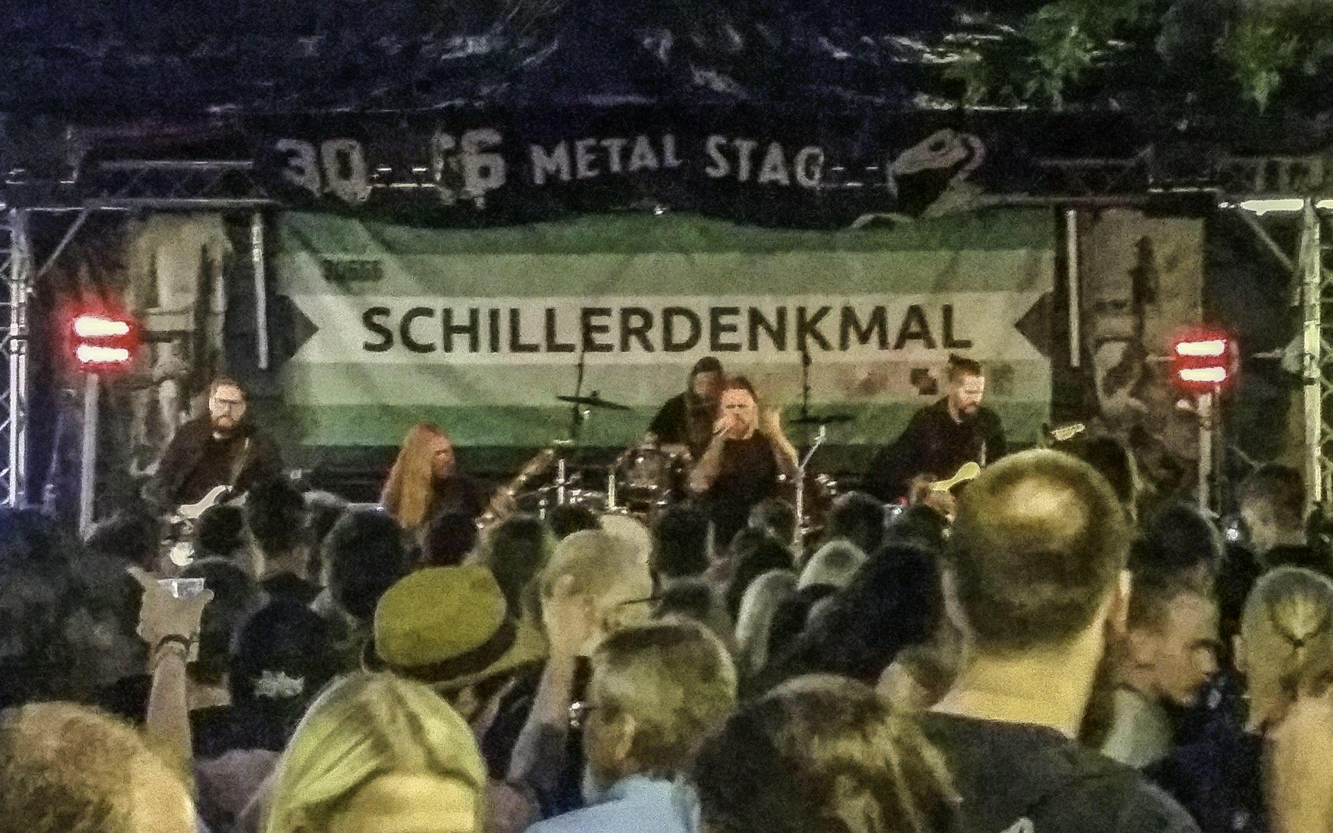 Damnation Defaced auf der 30666-Bühne am Schillerdenkmal