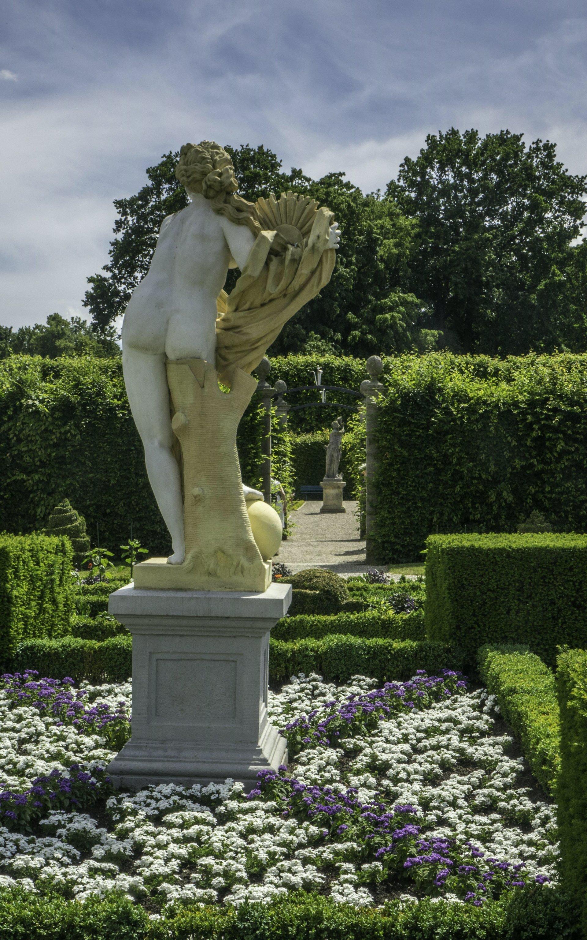 Niederdeutscher Blumengarten im Großen Garten
