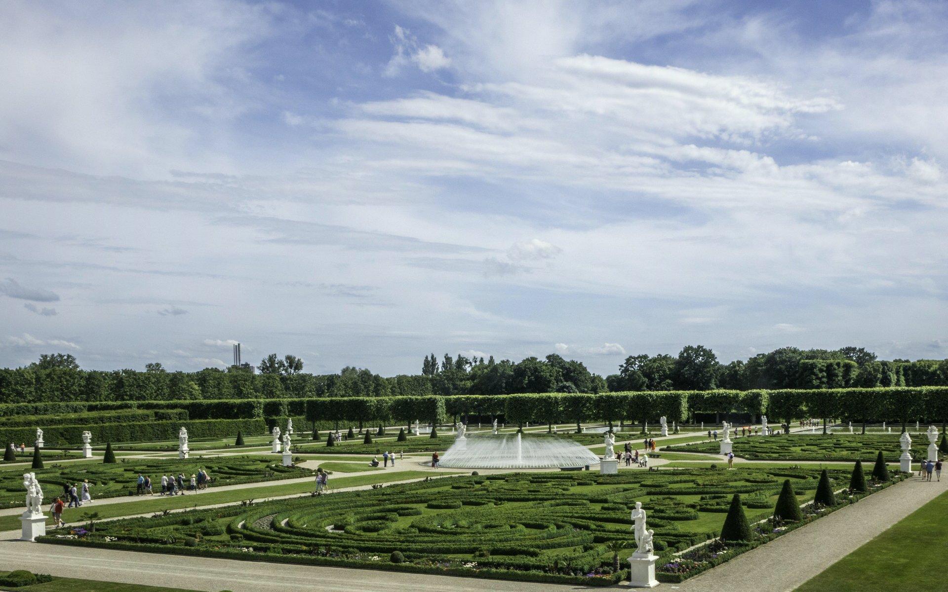 Parterre im Großen Garten