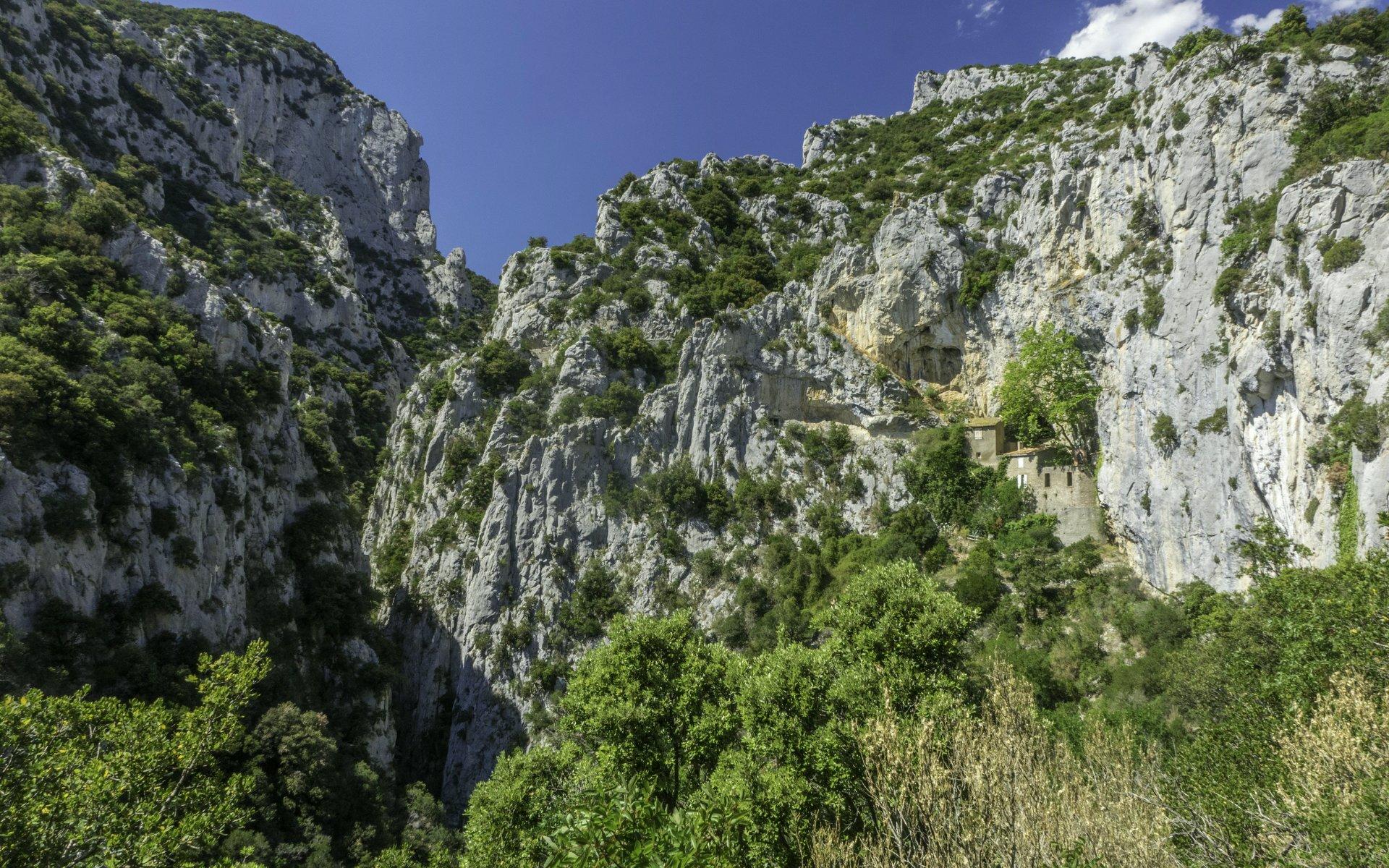 Gorges de Galamus und Ermitage Saint-Antoine