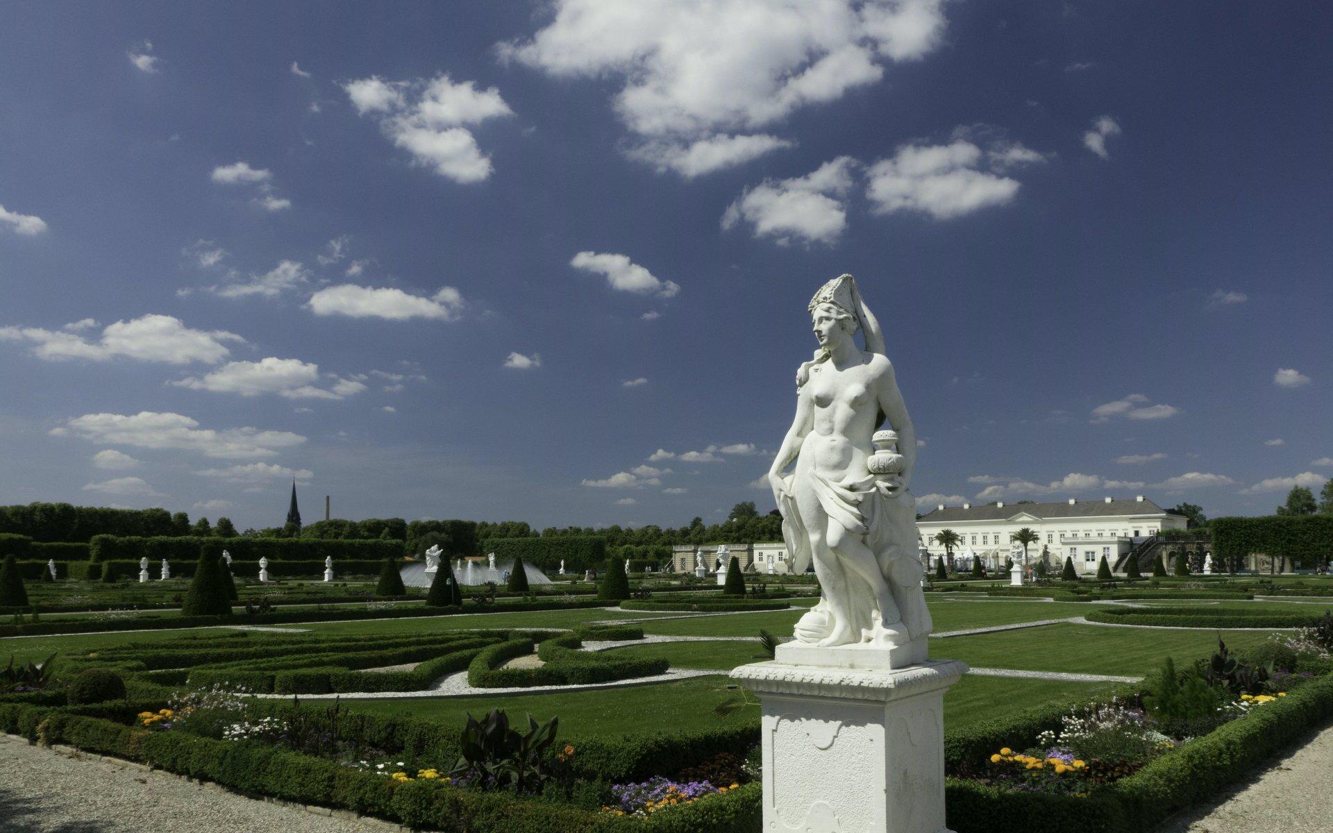Asien als Allegorie im Parterre des Großen Gartens