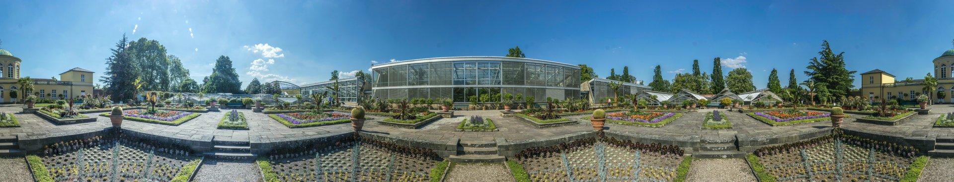 360° Panorama des Schmuckhofes im Berggarten