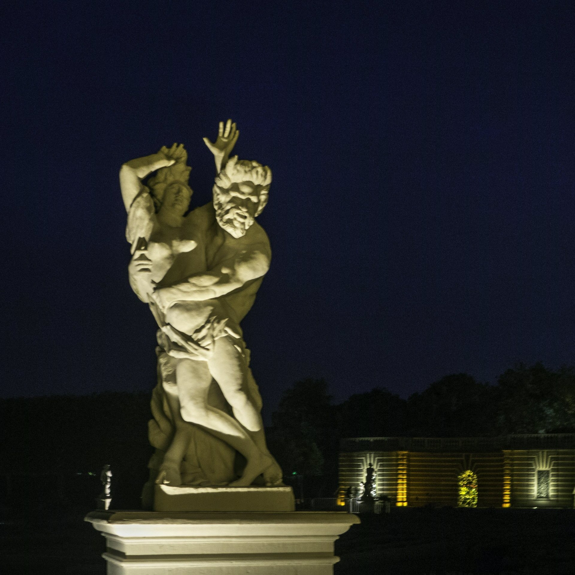 Pan und Syrinx im Parterre des Großen Gartens