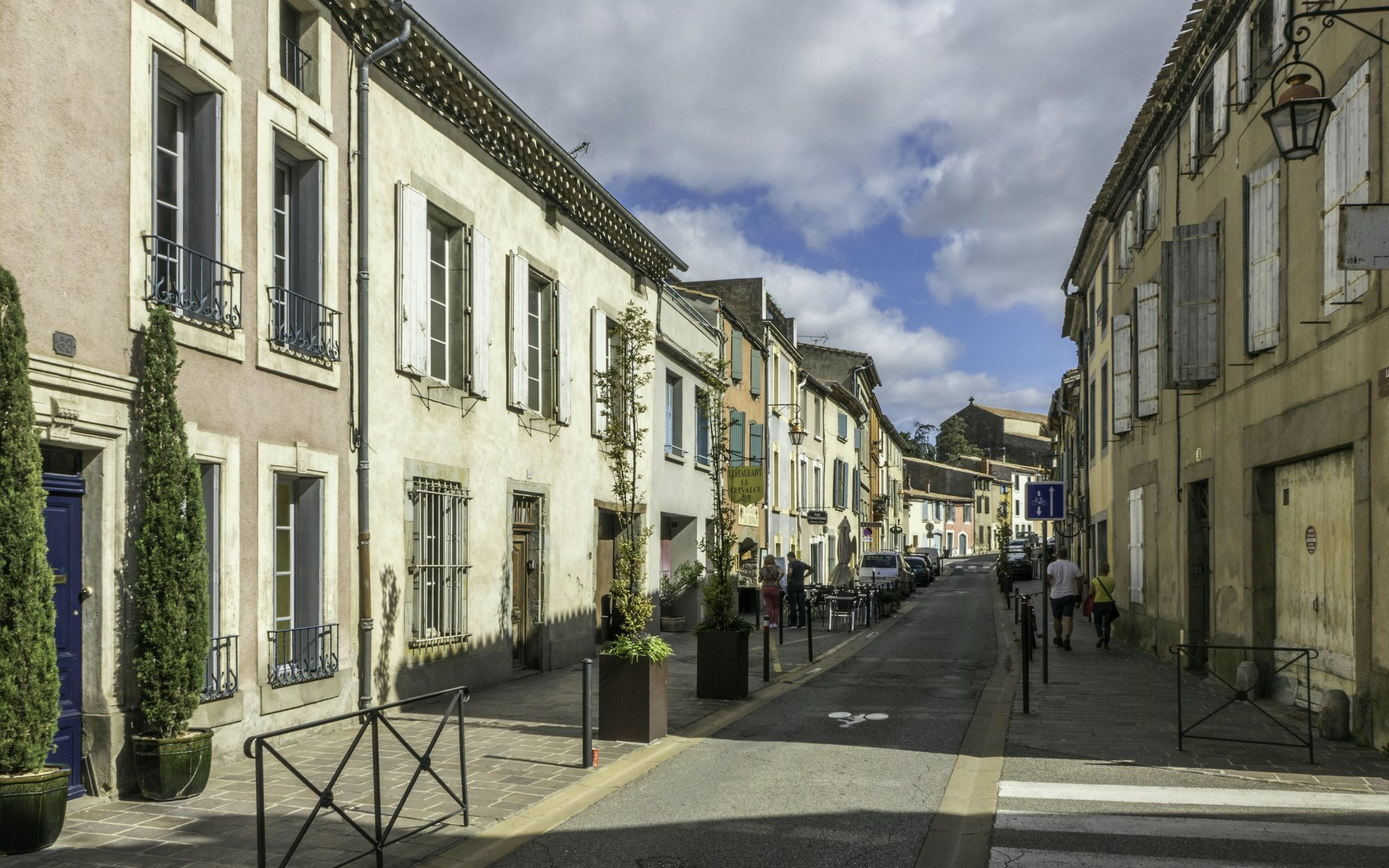 Rue Trivalle in Carcassonne