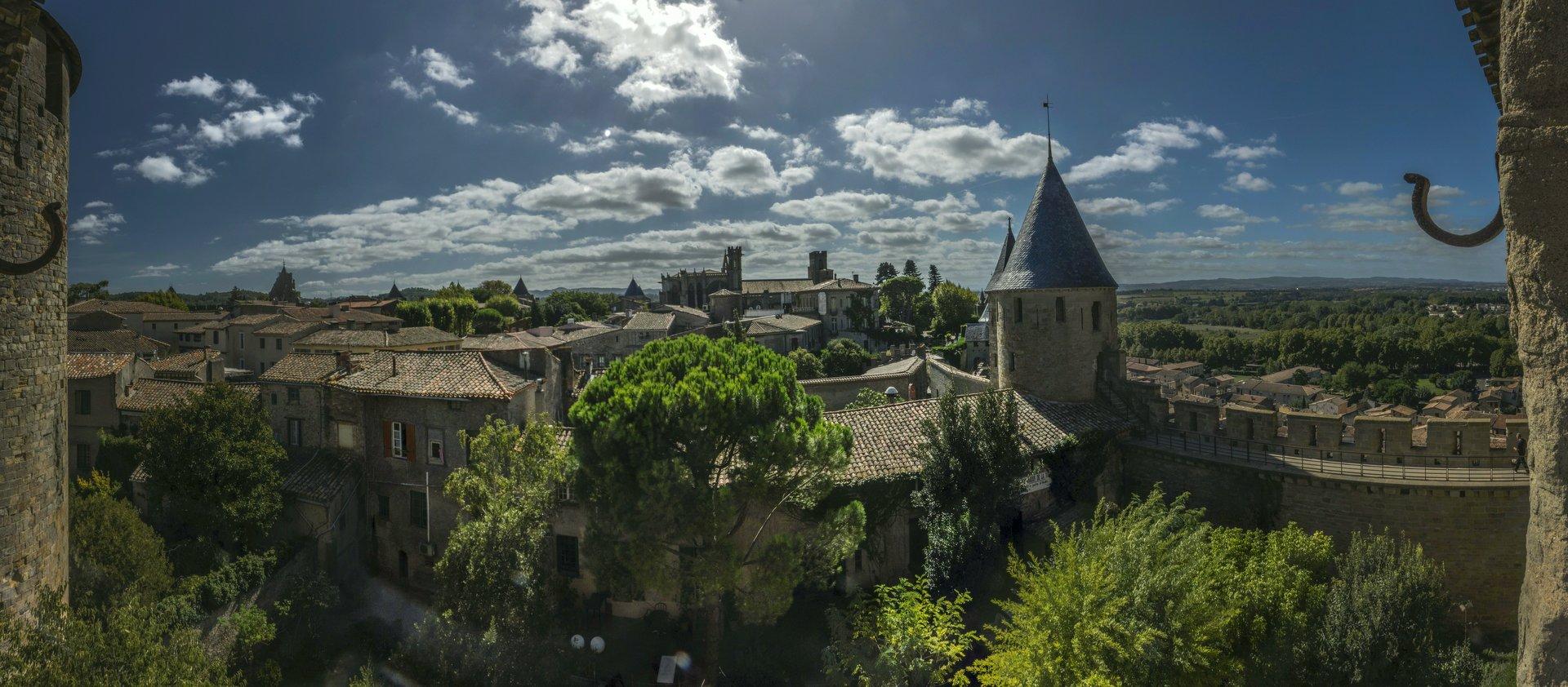 Tour de Justice in der Cité Carcassonne