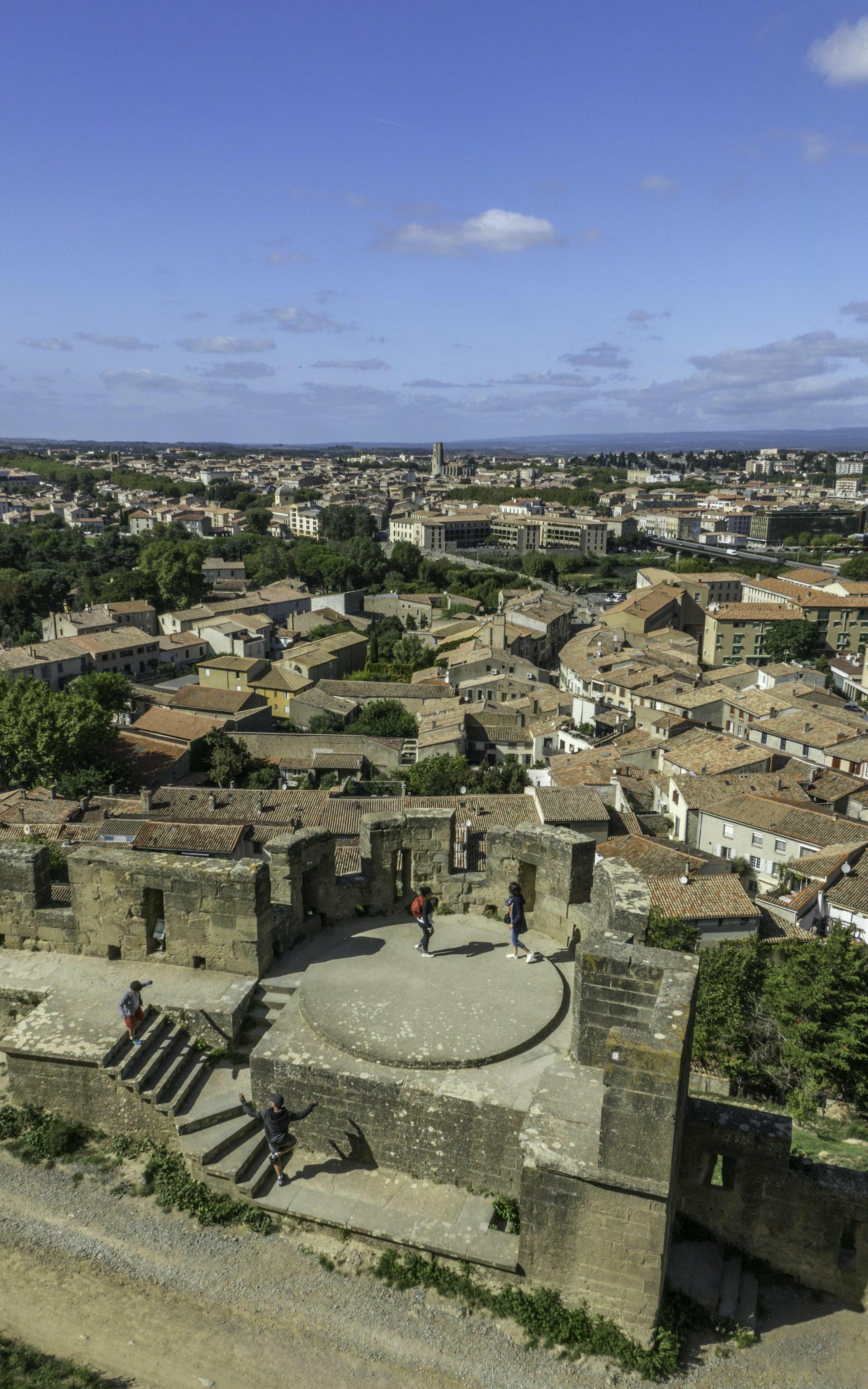 Tour de la Porte Rouge der Cité Carcassonne