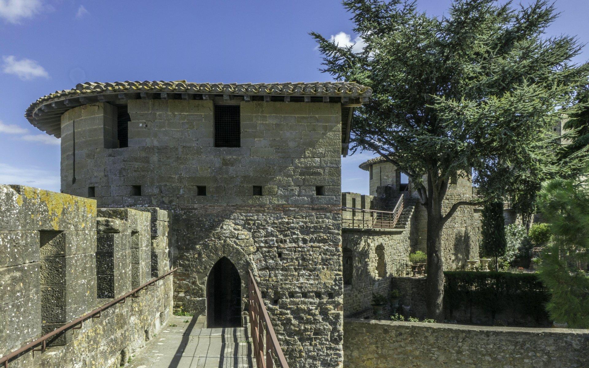 Nordöstliche innere Stadtmauer der Cité Carcassonne