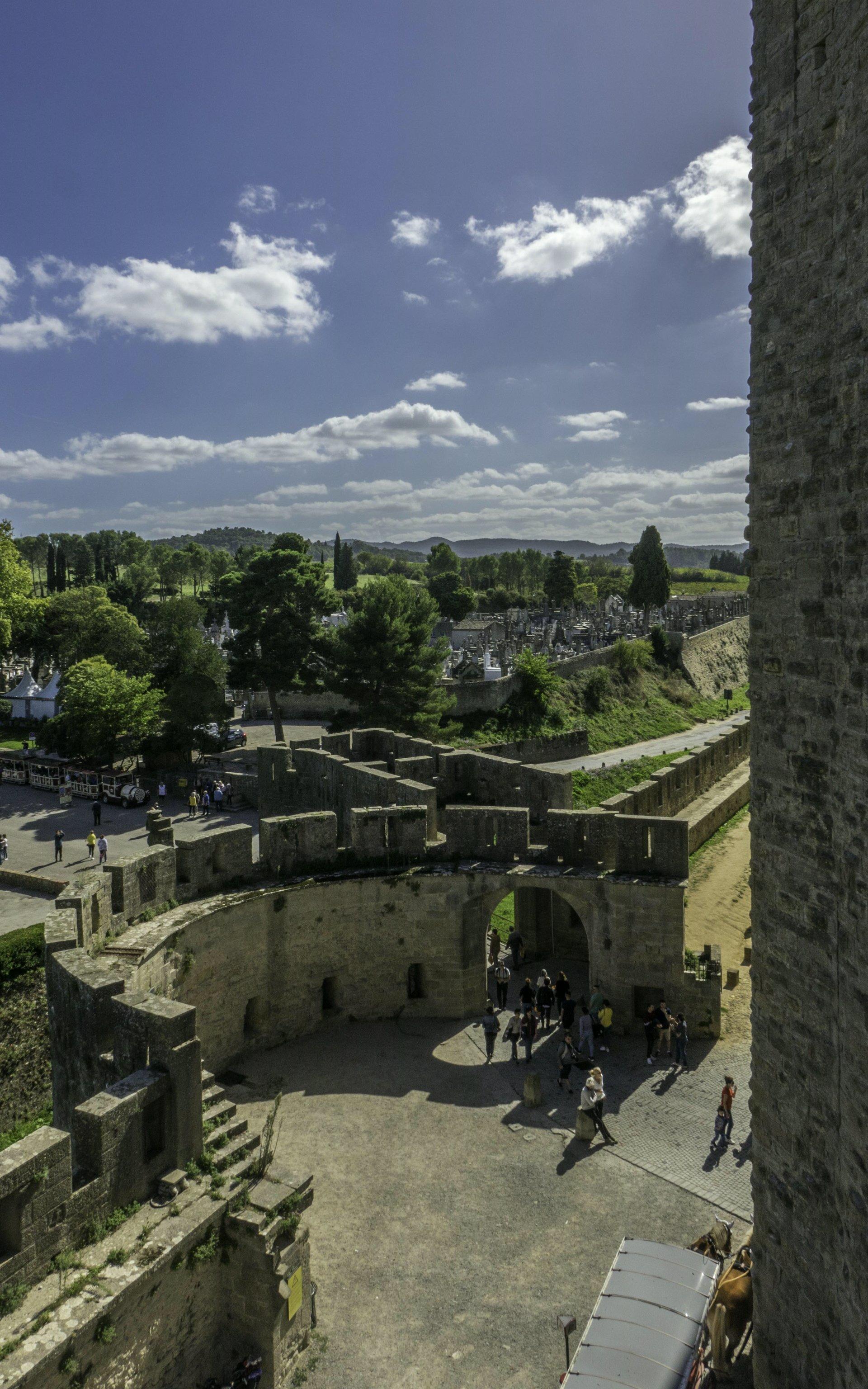 Porte Narbonnaise der Cité Carcassonne