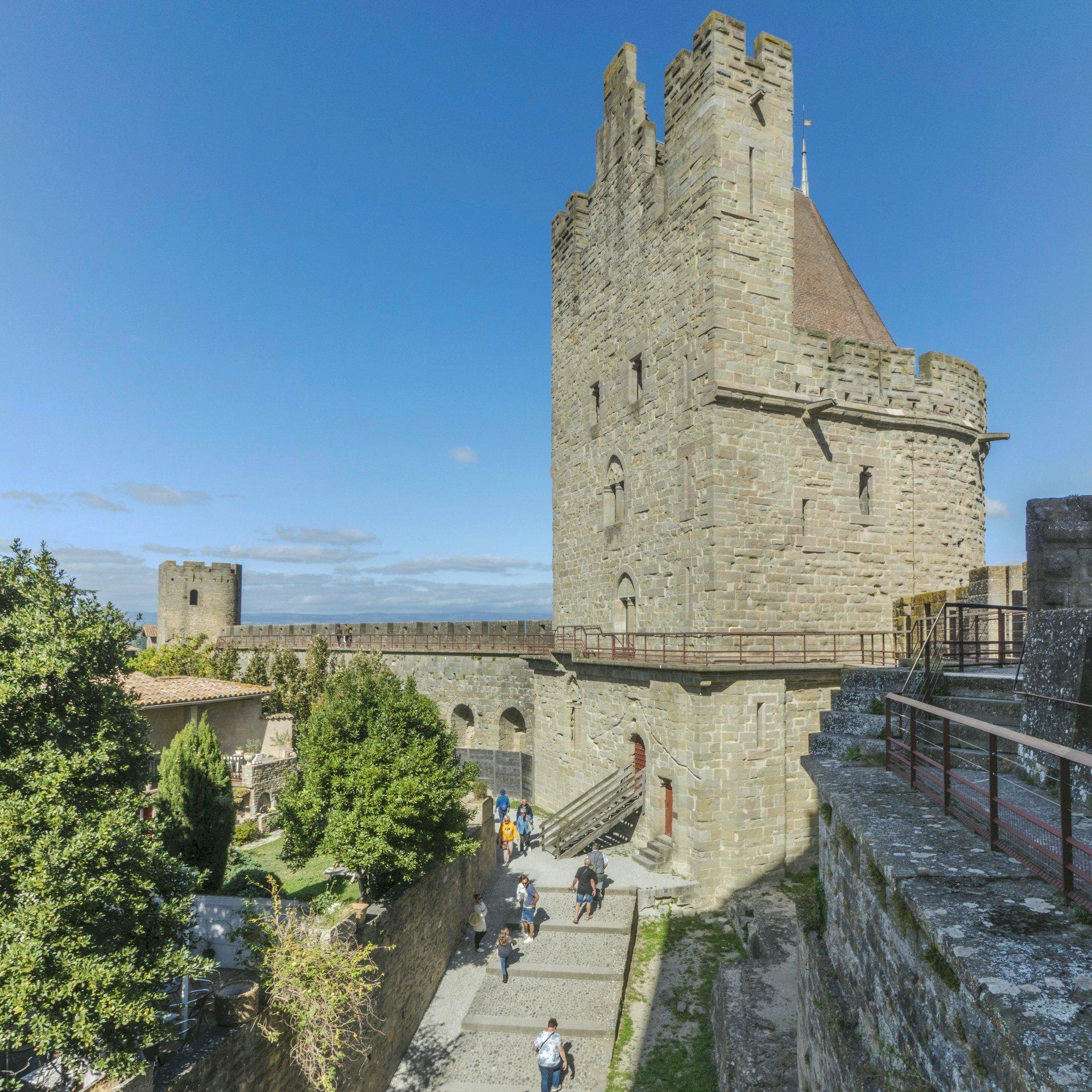 Tour de Tréseau der Cité Carcassonne