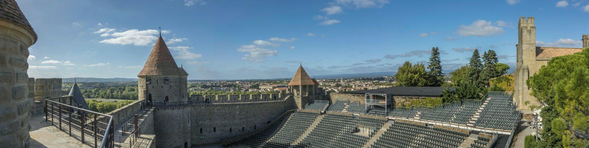 Théâtre de la Cité in der Cité Carcassonne