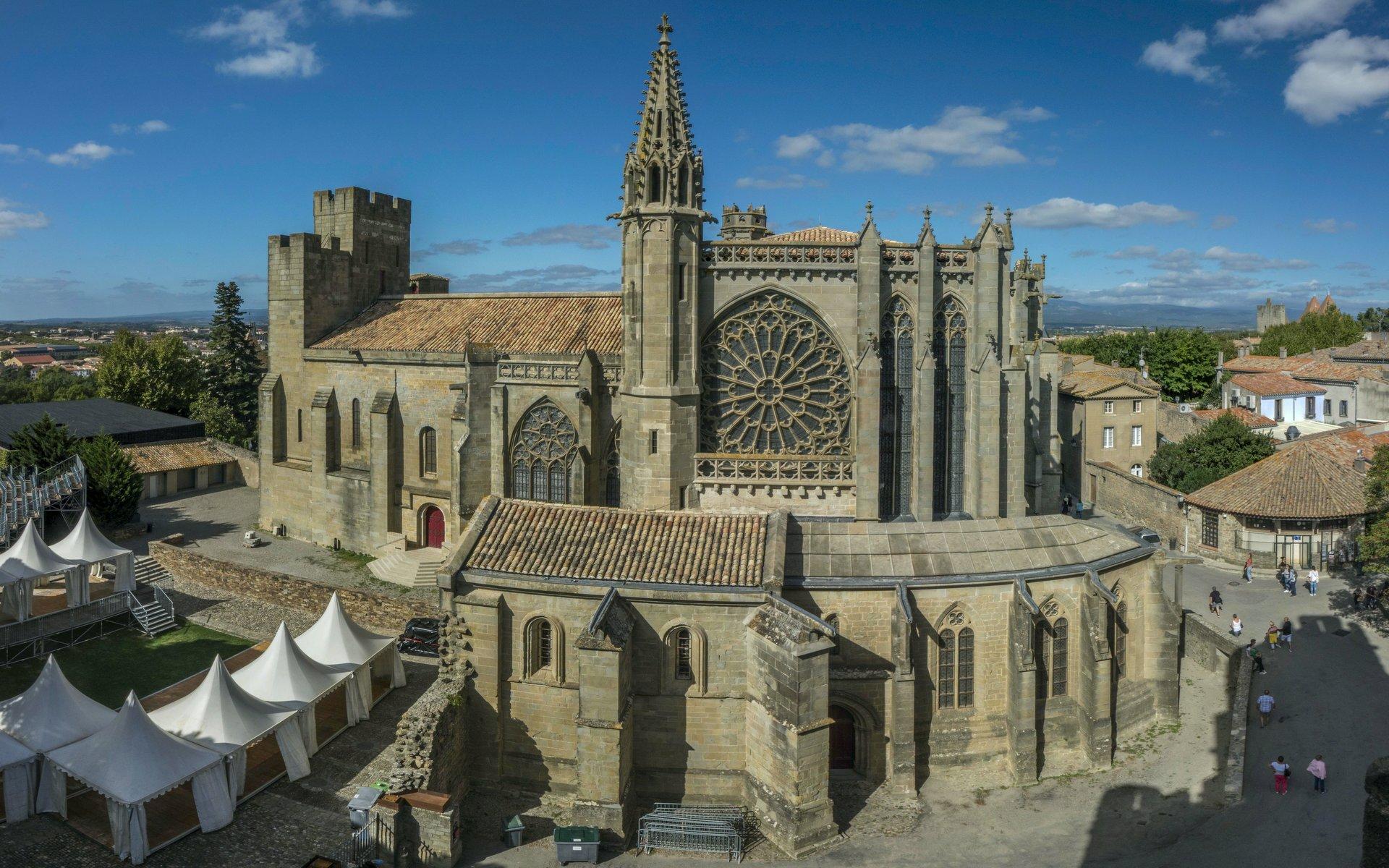 Basilique Saint-Nazaire in der Cité Carcassonne
