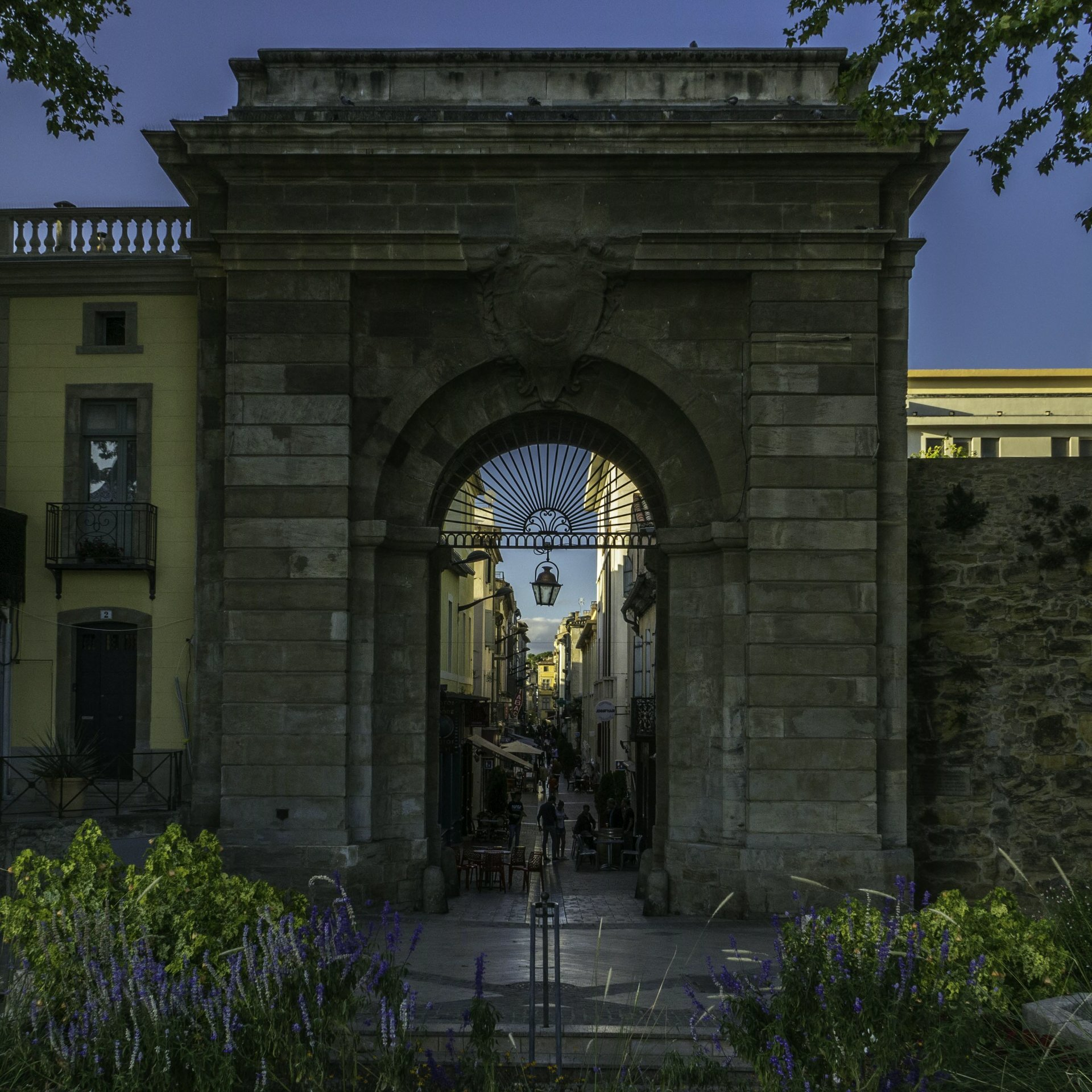 Portail des Jacobins in Carcassonne