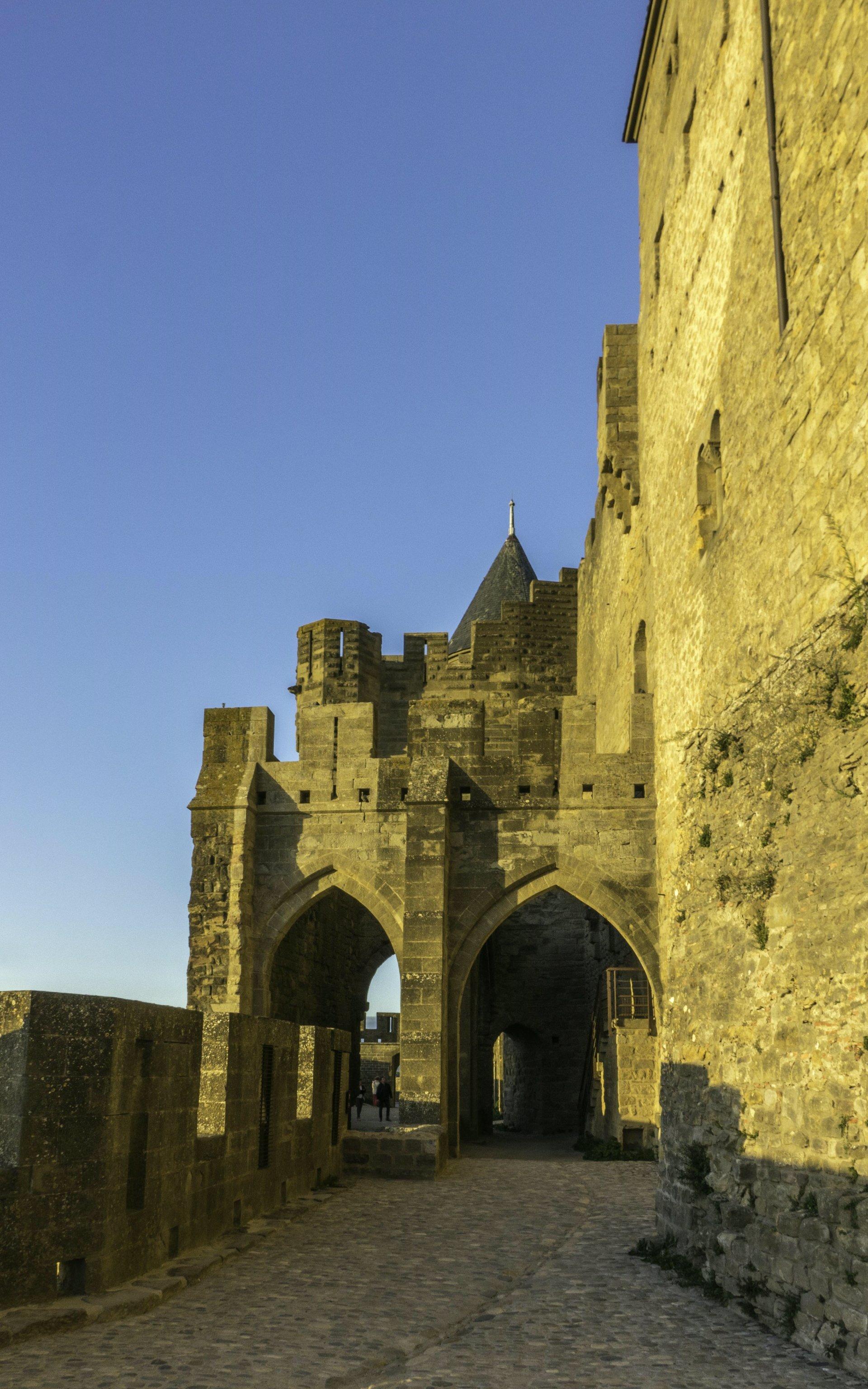 Château Comtal in der Cité Carcassonne