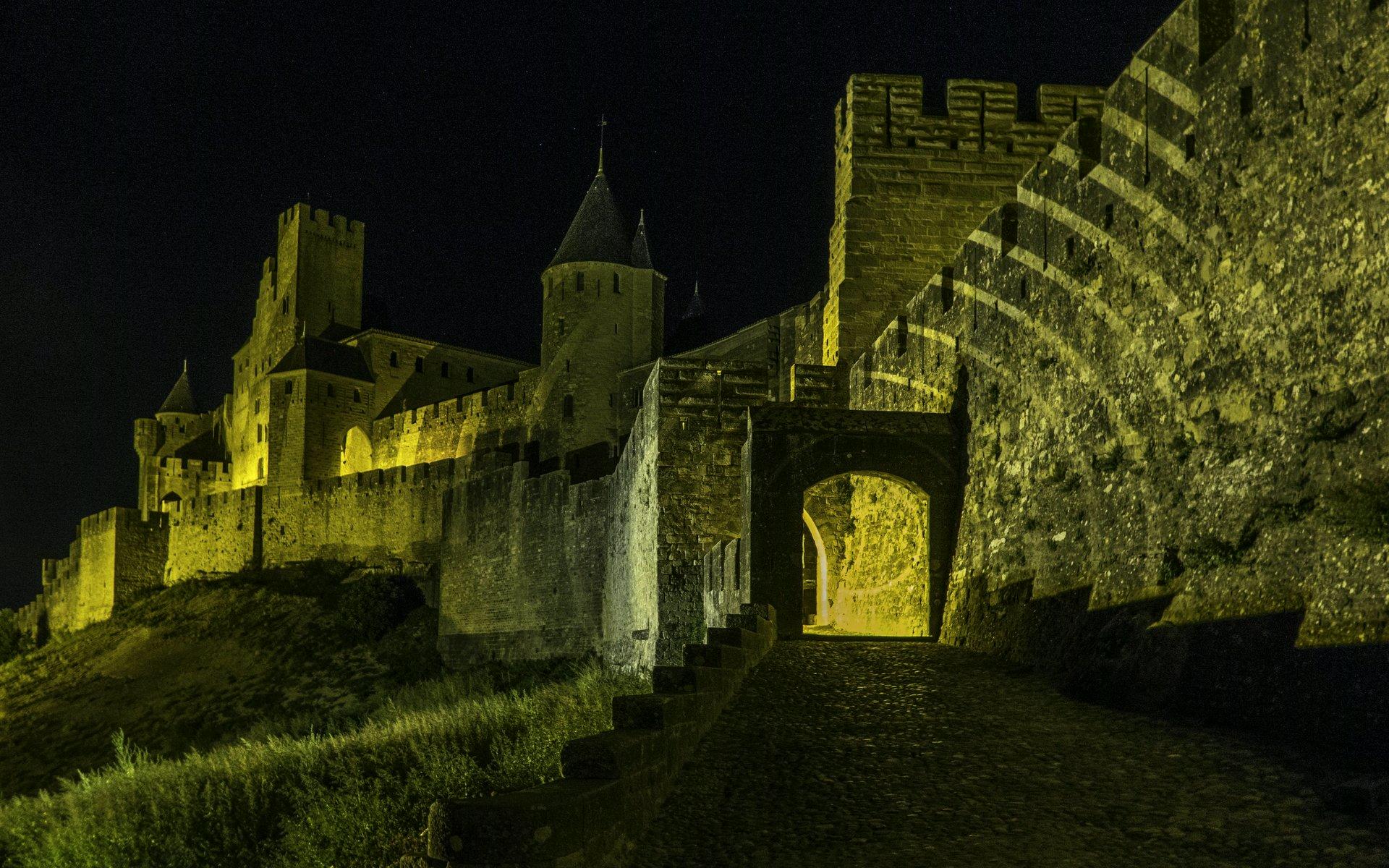 Porte d'Aude in der Cité Carcassonne