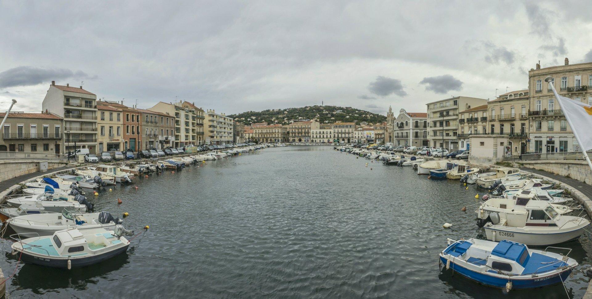 Canal de la Peyrade in Sète