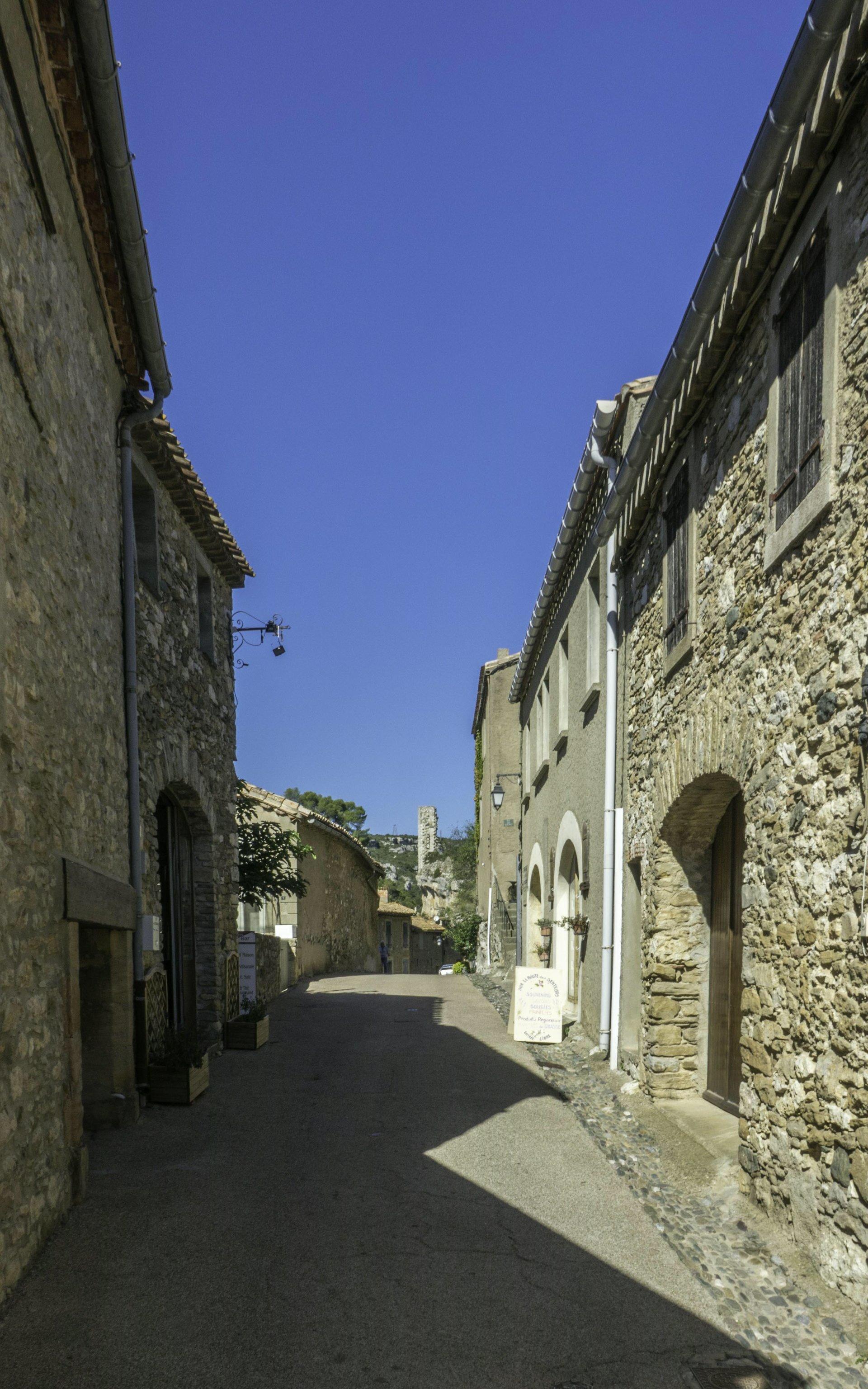 Rue du Porche in Minerve