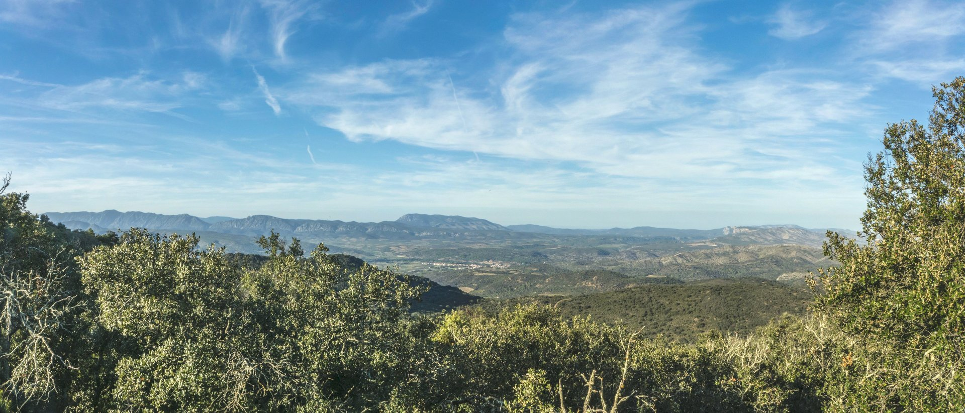 Nördliches Panorama auf dem Força Réal