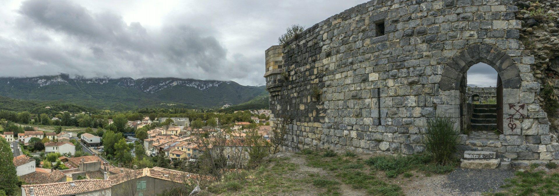 Château de Quillan in Quillan