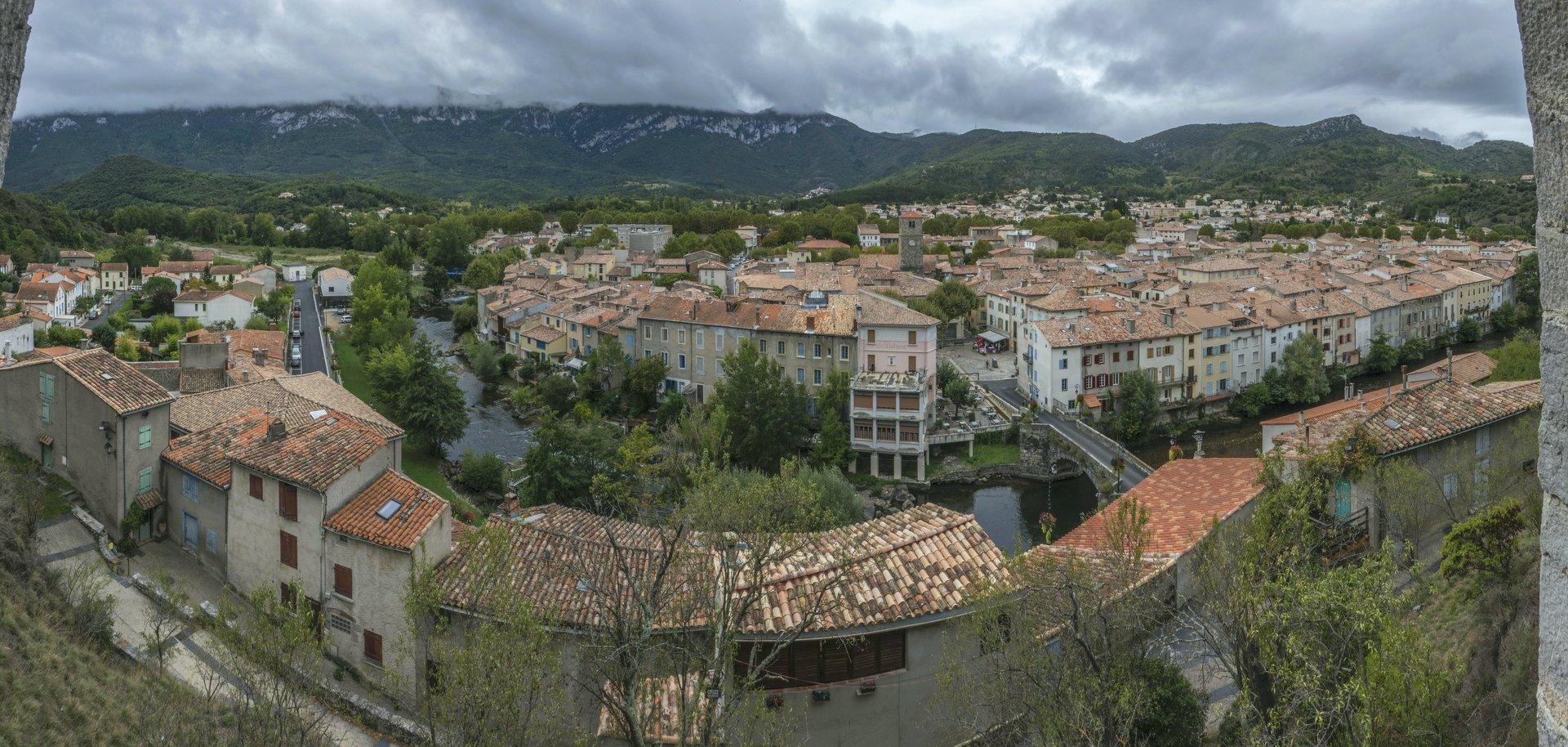 Pont Vieux und Aude in Quillan