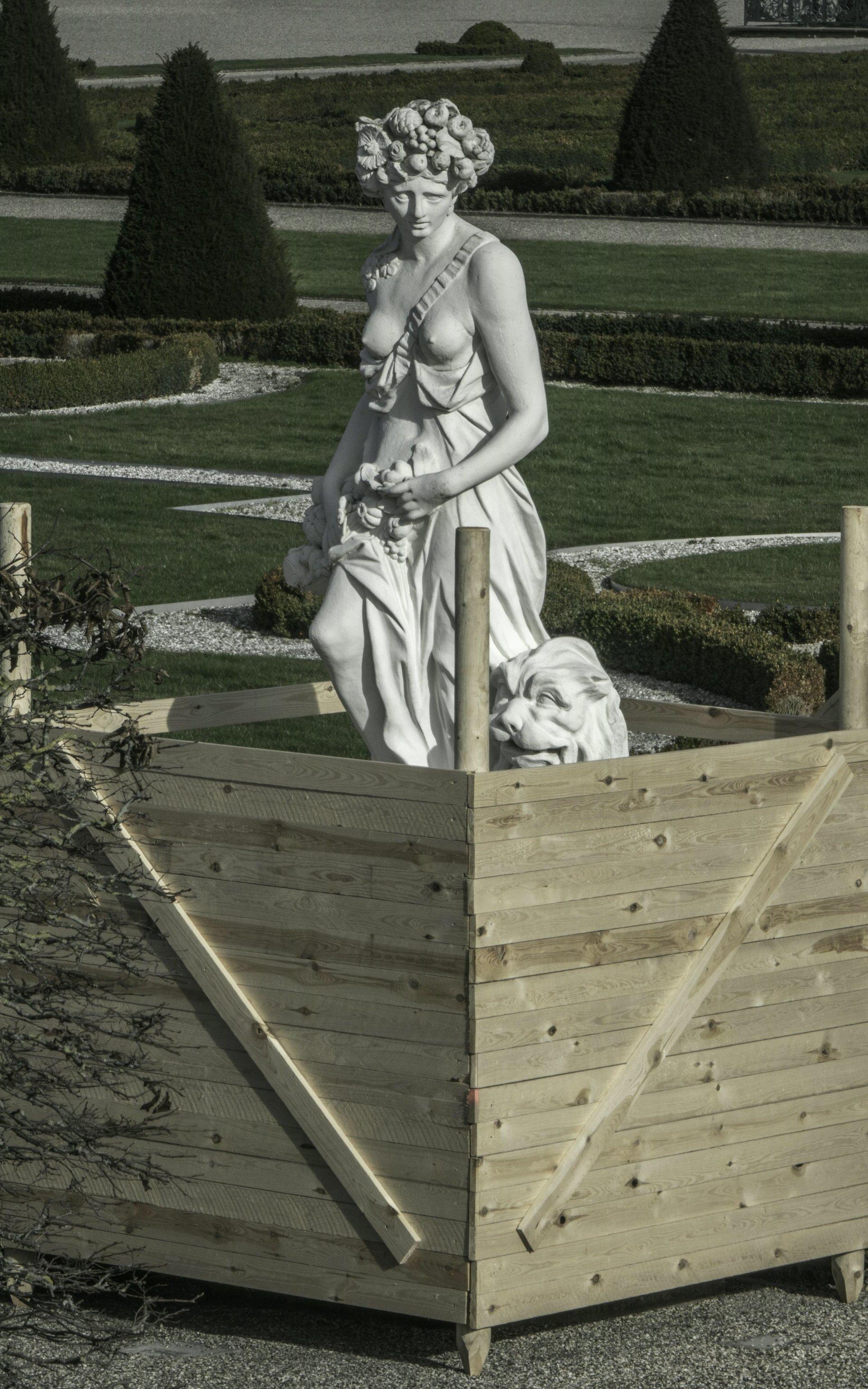 Kybele als Allegorie der Erde im Parterre des Großen Gartens