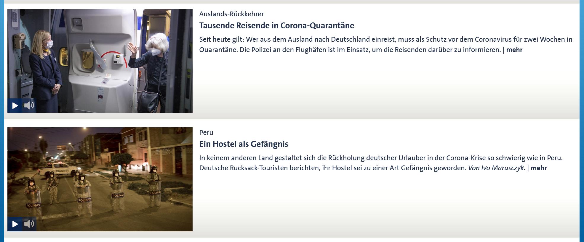 www.tagesschau.de am 10.4.2020 um 22:00