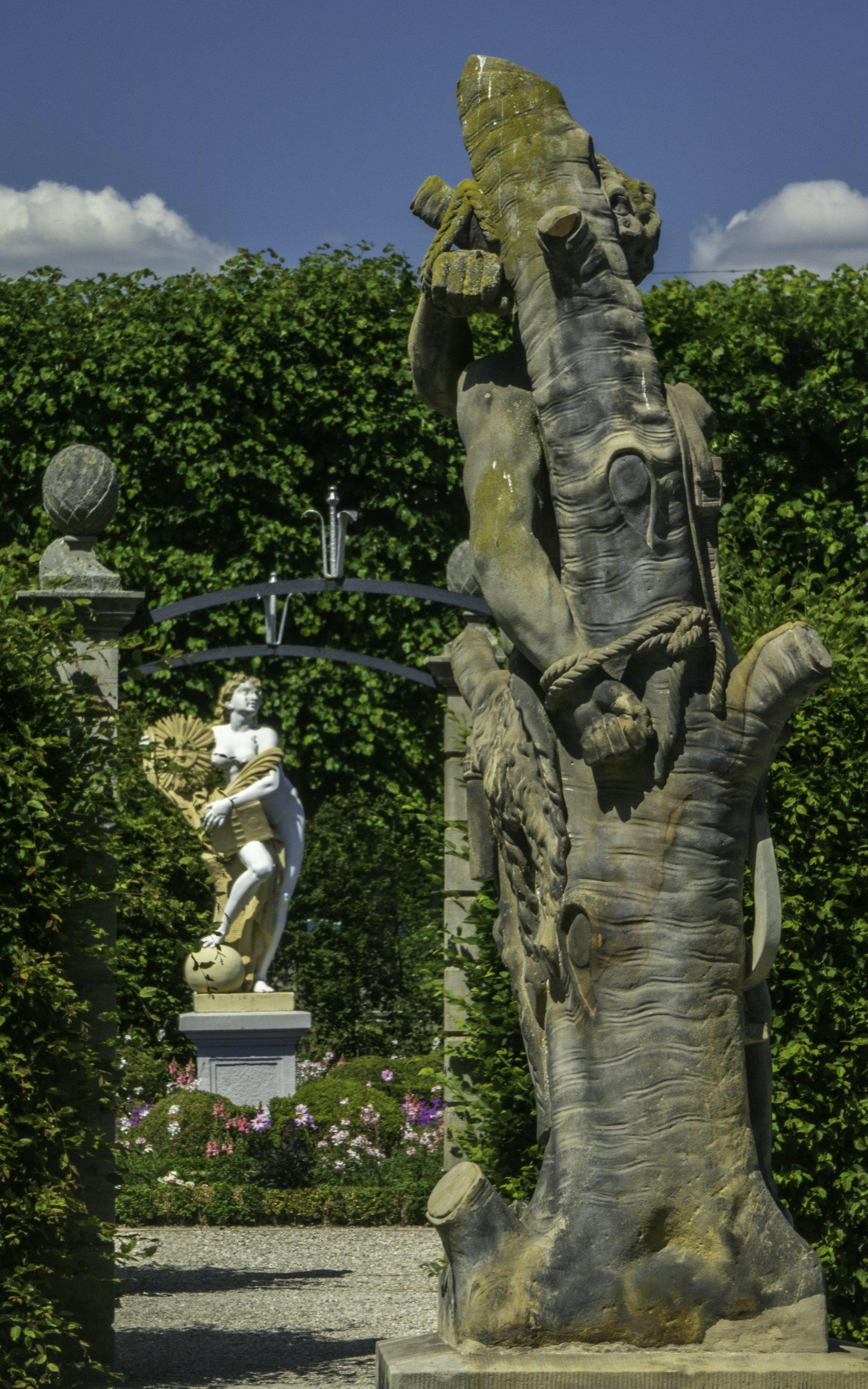 Renaissancegarten und Niederdeutscher Blumengarten im Großen Garten